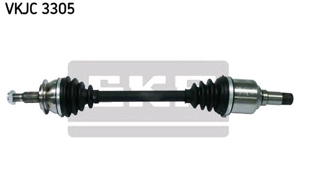 PIAGGIO APE Gelenkwelle - Original SKF VKJC 3305 Länge: 613mm, Außenverz.Radseite: 25