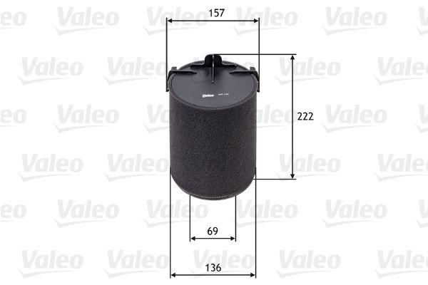 Zracni filter 585742 VALEO - samo novi deli