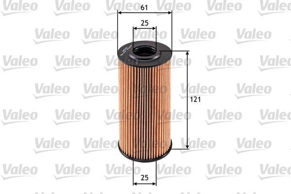 Kia K2500 VALEO Filtro de aceite 586578