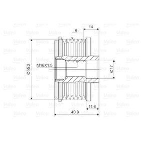 588005 Generatorfreilauf NEUTEIL VALEO 588005 - Große Auswahl - stark reduziert