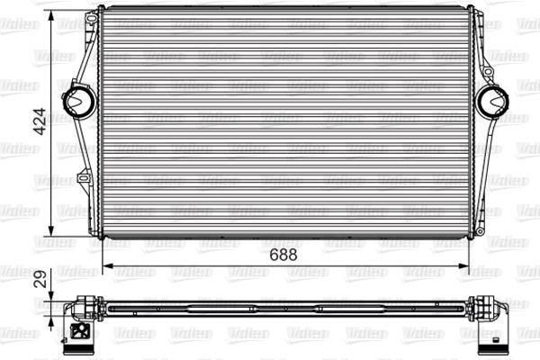 kjøpe Radiator intercooler 818283 når som helst