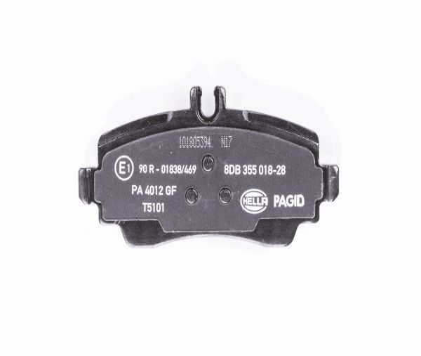 HELLA: Original Kompressor Klimaanlage 8FK 351 110-971 (Riemenscheiben-Ø: 110mm)