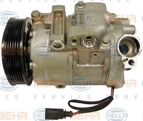 HELLA: Original Klimakompressor 8FK 351 110-971 (Riemenscheiben-Ø: 110mm)