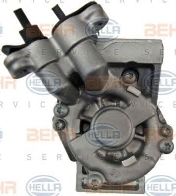 8FK351115111 Kompressori, ilmastointilaite HELLA 8FK 351 115-111 - Laaja valikoima — Paljon alennuksia