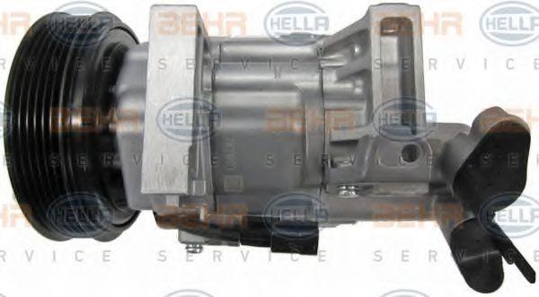 8FK 351 115-111 Ilmastointilaitteen kompressori HELLA - Edullisia merkki tuotteita