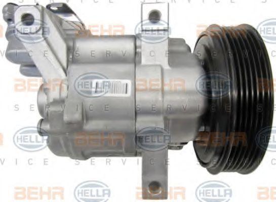 8FK351115-111 AC kompressori HELLA - Kokemusta alennushintaan