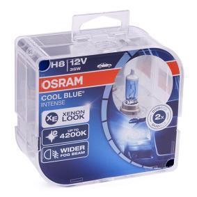 H8 OSRAM COOL BLUE INTENSE 35W, H8, 12V Lámpara, faro de carretera 64212CBI-HCB a buen precio