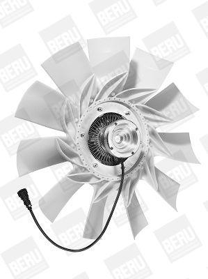 Radiatoriaus ventiliatorius LKK047 BERU — tik naujos dalys