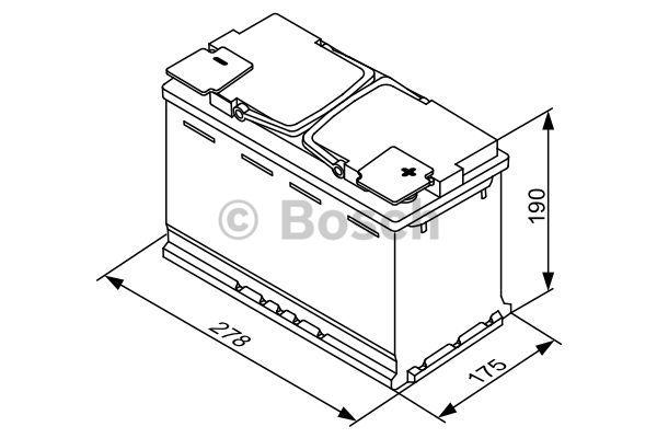 0 092 S5A 080 Akkumulator BOSCH in Original Qualität