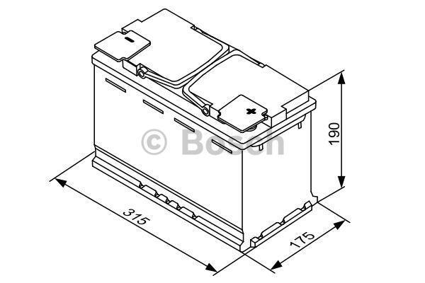 0 092 S5A 110 Akkumulator BOSCH in Original Qualität