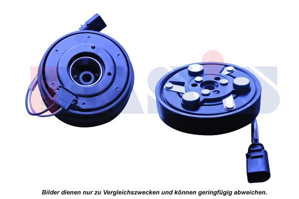 855001N AKS DASIS Magnetkupplung, Klimakompressor - online kaufen