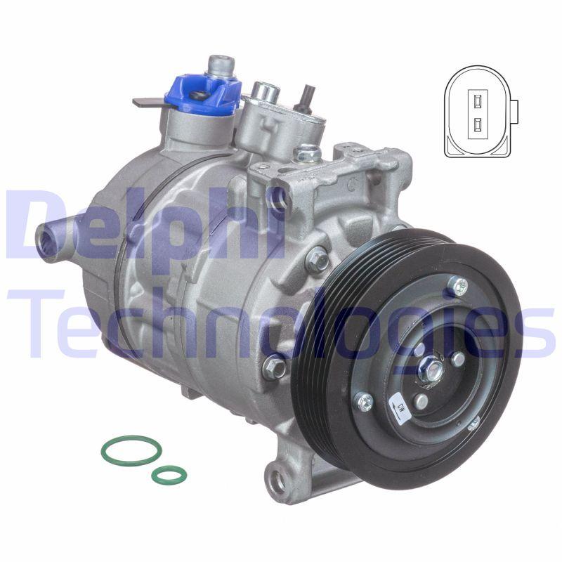 TSP0155997 AC kompressori DELPHI - Kokemusta alennushintaan