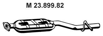 MERCEDES-BENZ CLK 2007 Msd - Original EBERSPÄCHER 23.899.82