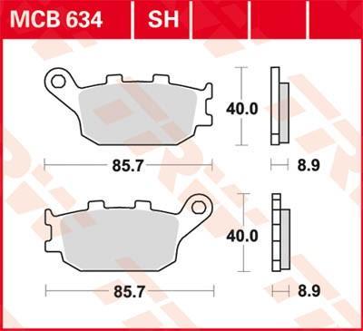 TRW MCB634