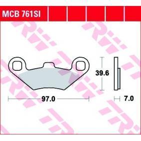 MCB761SI TRW Sinter Offroad Hoogte: 39,59mm, Dikte: 7mm Remblokkenset, schijfrem MCB761SI koop goedkoop