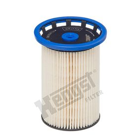 757230000 HENGST FILTER Filterinsats H: 124,5mm Bränslefilter E431KP köp lågt pris