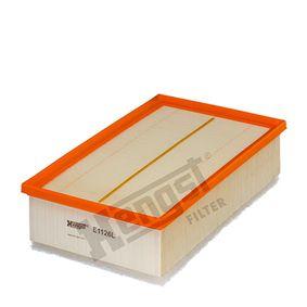 5664310000 HENGST FILTER Filterinsats L: 291,0mm, B: 177,0mm, H: 77,0mm Luftfilter E1126L köp lågt pris