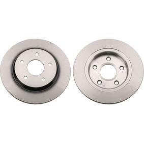 DF6325 TRW Voll, lackiert Ø: 305mm, Lochanzahl: 5, Bremsscheibendicke: 12mm Bremsscheibe DF6325 günstig kaufen