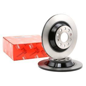 Kupi DF6504 TRW Poln, lakiran Ø: 300mm, Stevilo lukenj: 5, Debelina zavornega diska: 12mm Zavorni kolut DF6504 poceni