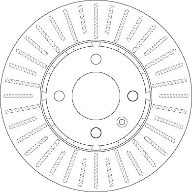 DF6252 Bremsscheibe TRW in Original Qualität