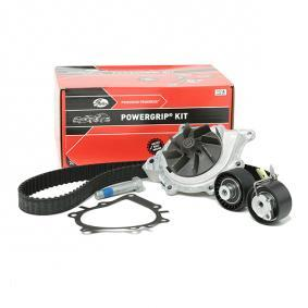 Z80691 GATES with water pump, FleetRunner™ Micro-V® Stretch Fit® Water Pump & Timing Belt Set KP25633XS cheap