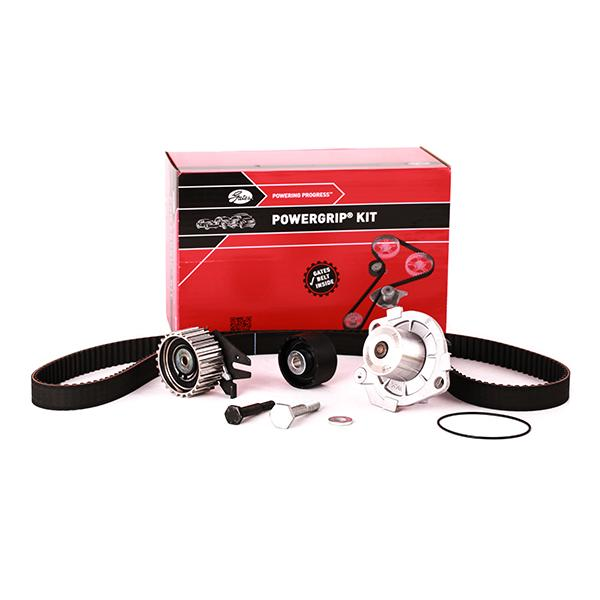 Car spare parts ALFA ROMEO 159 2007: Water pump and timing belt kit GATES KP25650XS at a discount — buy now!