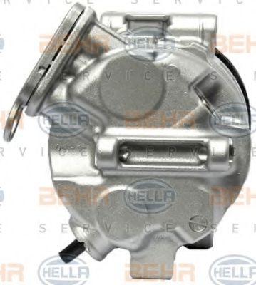 8FK351114781 Kompressori, ilmastointilaite HELLA 8FK 351 114-781 - Laaja valikoima — Paljon alennuksia