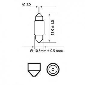 12844CP Glödlampa, skyltbelysning PHILIPS - Billiga märkesvaror