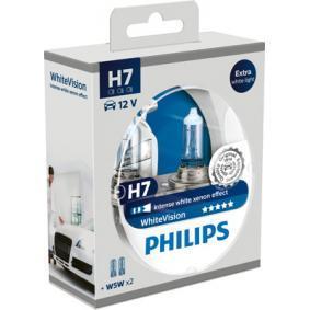 12972WHVSM Lâmpada, farol de longo alcance WhiteVision PHILIPS H7 Enorme selecção - fortemente reduzidos
