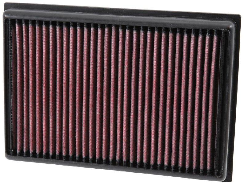 K&N Filters: Original Luftfiltereinsatz 33-5007 (Länge: 229mm, Länge: 229mm, Breite: 160mm, Höhe: 30mm)