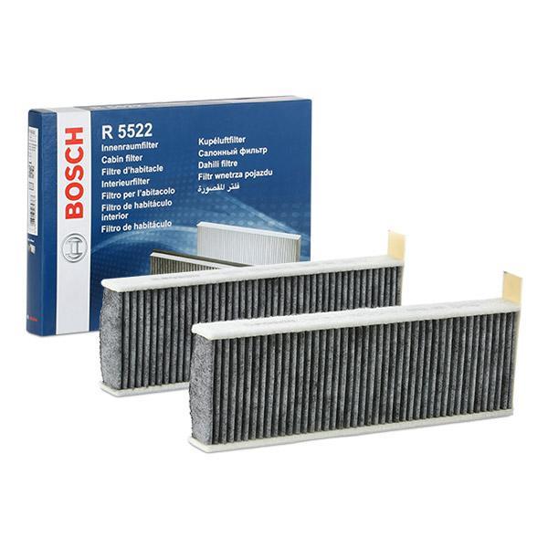 Köp BOSCH 1 987 435 522 - Klimatanläggning till Toyota: aktivtkolfilter B: 96mm, H: 30,5mm, L: 298mm