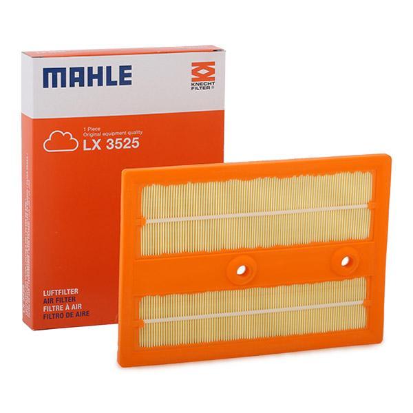 Achetez Filtre à air MAHLE ORIGINAL LX 3525 (Longueur coque: 269,0mm, Longueur: 191,0mm, Largeur: 191, 191,0mm, Hauteur: 31mm) à un rapport qualité-prix exceptionnel