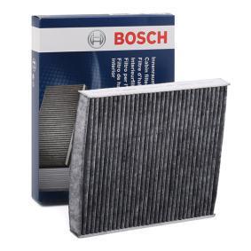 R5515 BOSCH Aktivkohlefilter Breite: 231mm, Höhe: 30mm, Länge: 258mm Filter, Innenraumluft 1 987 435 515 günstig kaufen