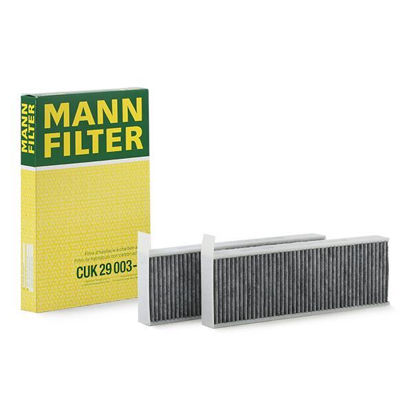 Achetez Filtre MANN-FILTER CUK 29 003-2 (Largeur: 96mm, Hauteur: 32mm, Longueur: 293mm) à un rapport qualité-prix exceptionnel