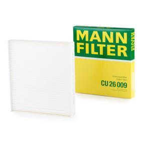 CU 26 009 Pollenfilter MANN-FILTER - Markenprodukte billig
