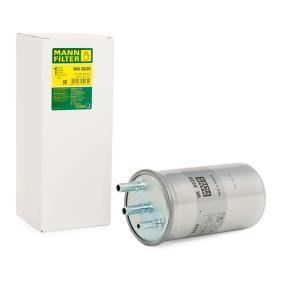 WK 8039 MANN-FILTER Výška: 210mm Palivovy filtr WK 8039 kupte si levně