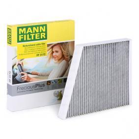 MANN-FILTER Original Filtro de Habit/áculo CUK 3172 Para autom/óviles Filtro antipolen con carb/ón activo