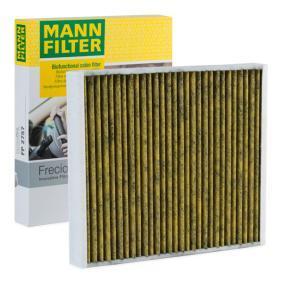 FEBI BILSTEIN Filter Innenraumluft 11236 Filtereinsatz Aktivkohlefilter für OPEL