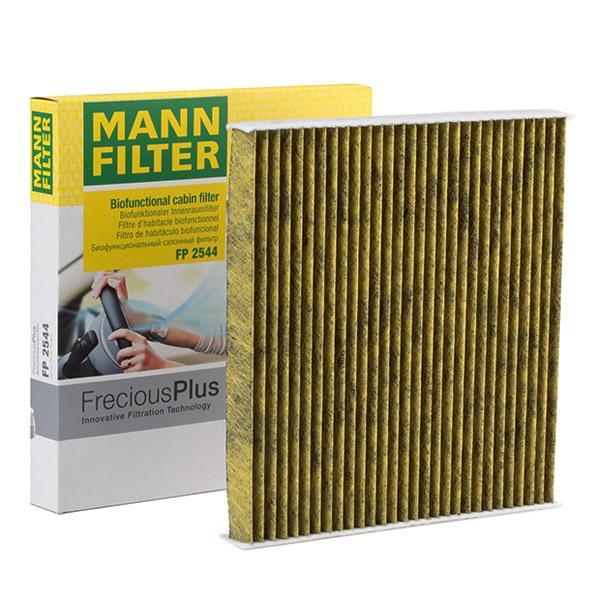 Origine Système de chauffage MANN-FILTER FP 2544 (Largeur: 250mm, Hauteur: 25mm, Longueur: 235mm)
