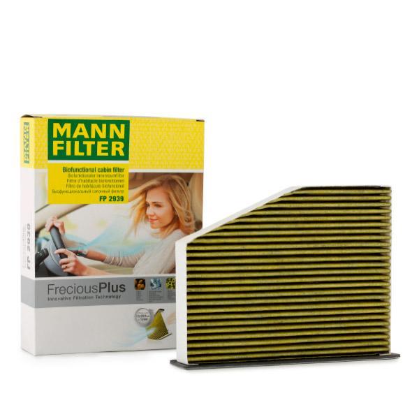 Achetez Système de chauffage MANN-FILTER FP 2939 (Largeur: 215mm, Hauteur: 34mm, Longueur: 288mm) à un rapport qualité-prix exceptionnel
