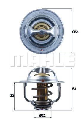 TX 120 89D BEHR THERMOT-TRONIK Termóstato, líquido de refrigeração - compre online