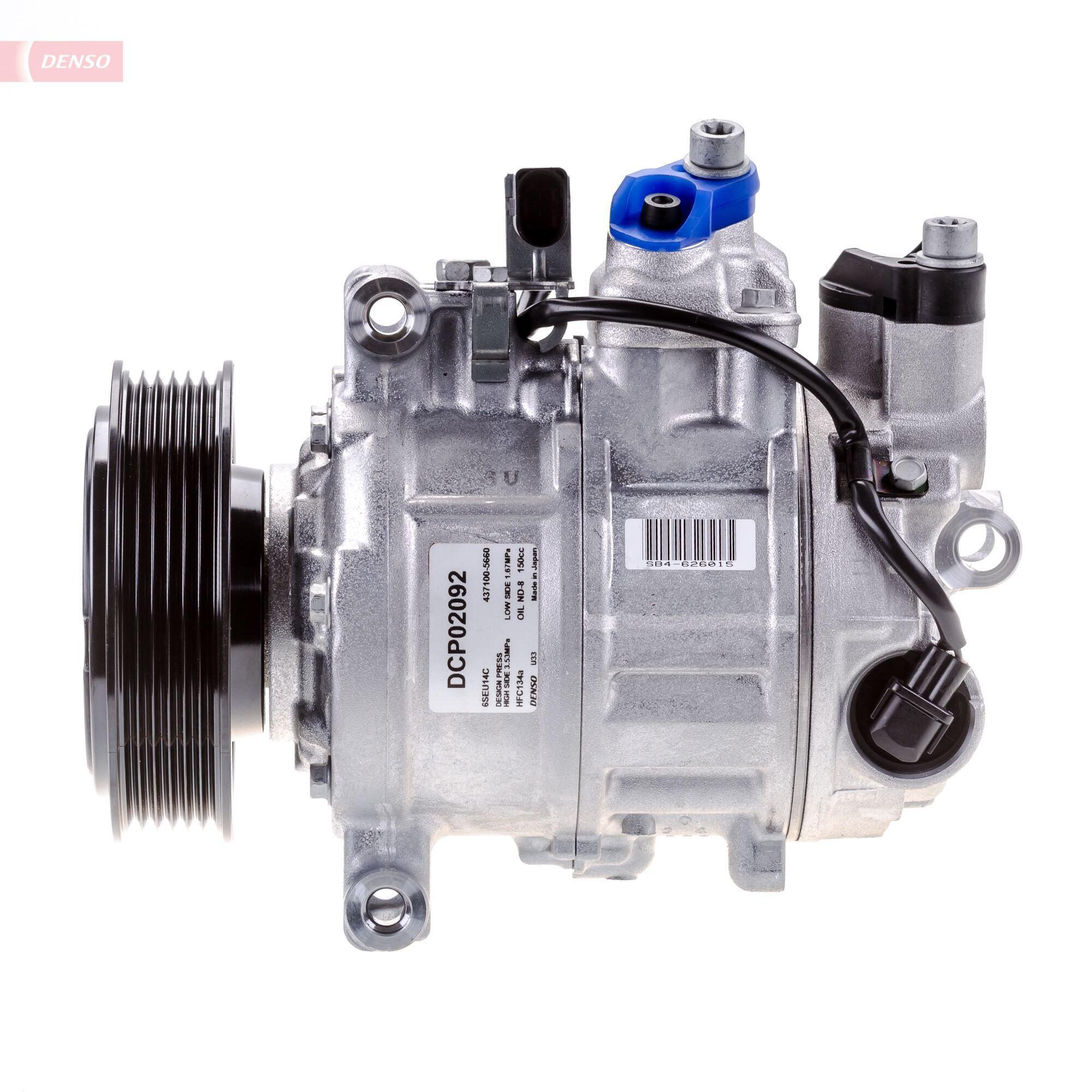 DCP02092 Kompressor, Klimaanlage DENSO DCP02092 - Große Auswahl - stark reduziert