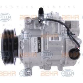 aire acondicionado Behr Hella Service 8fk 351 110-381 *** premium line *** compresor