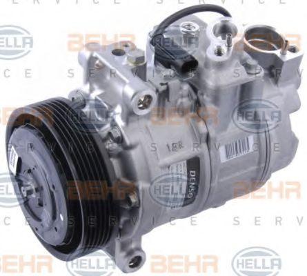 8FK 351 114-271 HELLA PAG 46, Kältemittel: R 134a, HELLA BLACK MAGIC Riemenscheiben-Ø: 130mm Klimakompressor 8FK 351 114-271 günstig kaufen