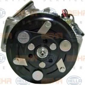 8FK351272291 Klimakompressor HELLA 8FK 351 272-291 - Große Auswahl - stark reduziert