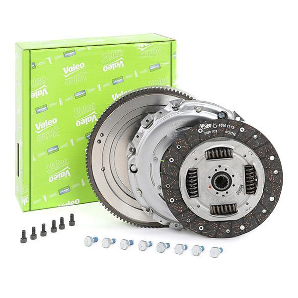 Köp VALEO 835132 - Tuning till Volvo: Ombyggnad från dubbelmassesvänghjul till enkelmassesvänghjul, med tryckplatta, utan urtrampningsmekanism, med lamell, med skruvsats, med svänghjul