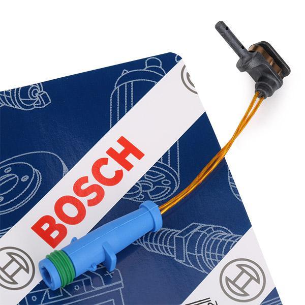 Contact d'avertissement, usure des plaquettes de frein | BOSCH 1 987 474 553