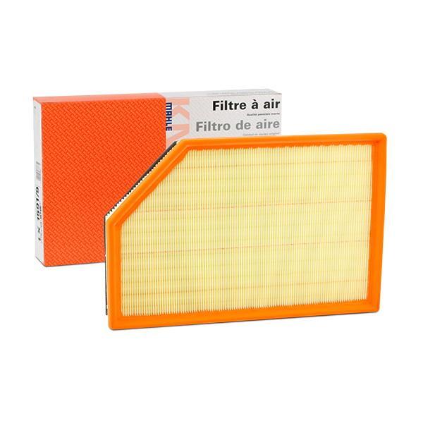 Köp MAHLE ORIGINAL LX 1591/9 - Luftfilter till Volvo: Filterinsats Totallängd: 346,5mm, L: 226,0mm, B: 226, 226,0mm, H: 52mm