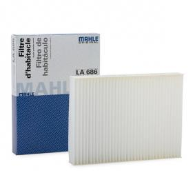 Filter, zrak notranjega prostora LA 686 za FIAT TALENTO po znižani ceni - kupi zdaj!