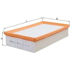 LX3502 Zracni filter MAHLE ORIGINAL - Znižane cene